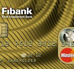Fibank MasterCard Златна